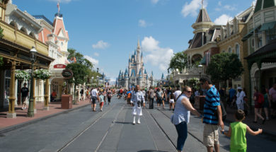 Low crowds at Magic Kingdom