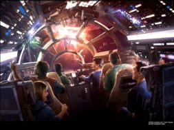 Millennium Falcon: Smuggler's Run at Star Wars: Galaxy's Edge concept art