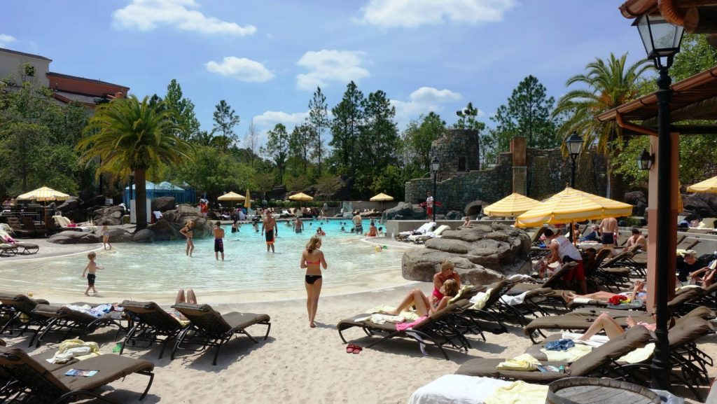 Portofino Bay Hotel's Beach Pool at Universal Orlando