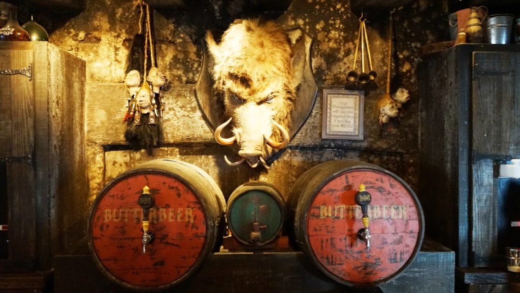 The Hog's Head pub at The Three Broomsticks