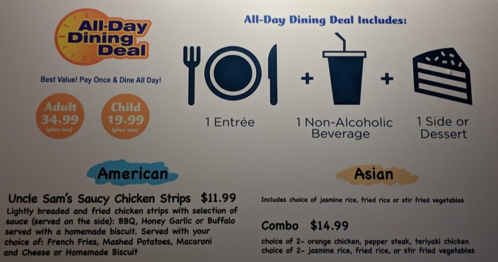All-Day Dining at SeaWorld Orlando