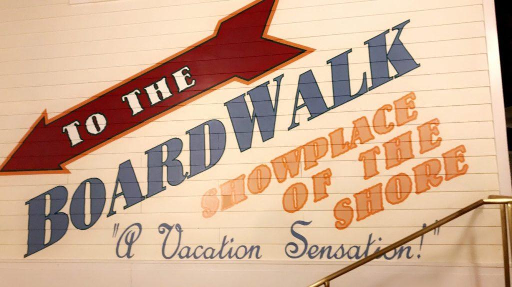 Disney's BoardWalk sign