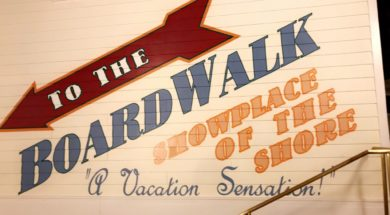 Disney's BoardWalk sign
