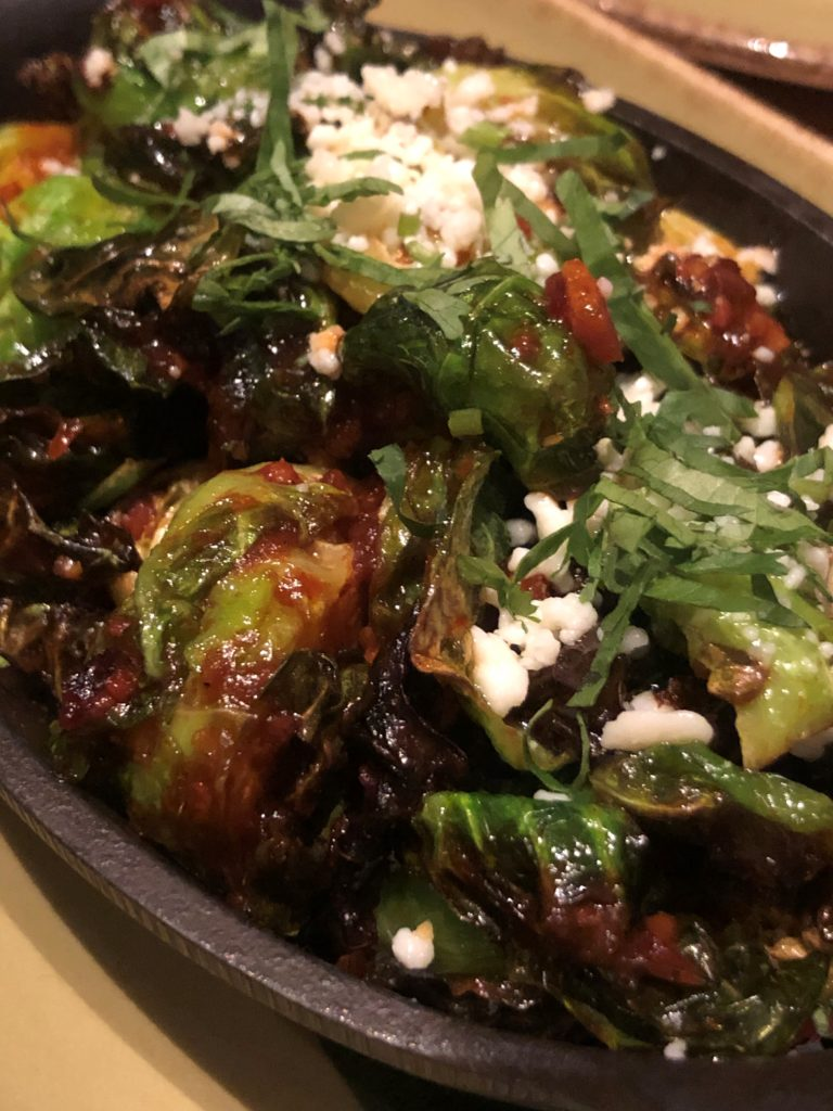 Brussels sprouts at Frontera Cocina