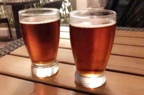 Jake's American Red Lager at Jake's Beer Dinner