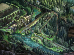 Hagrid's Magical Creatures Motorbike Adventure concept art