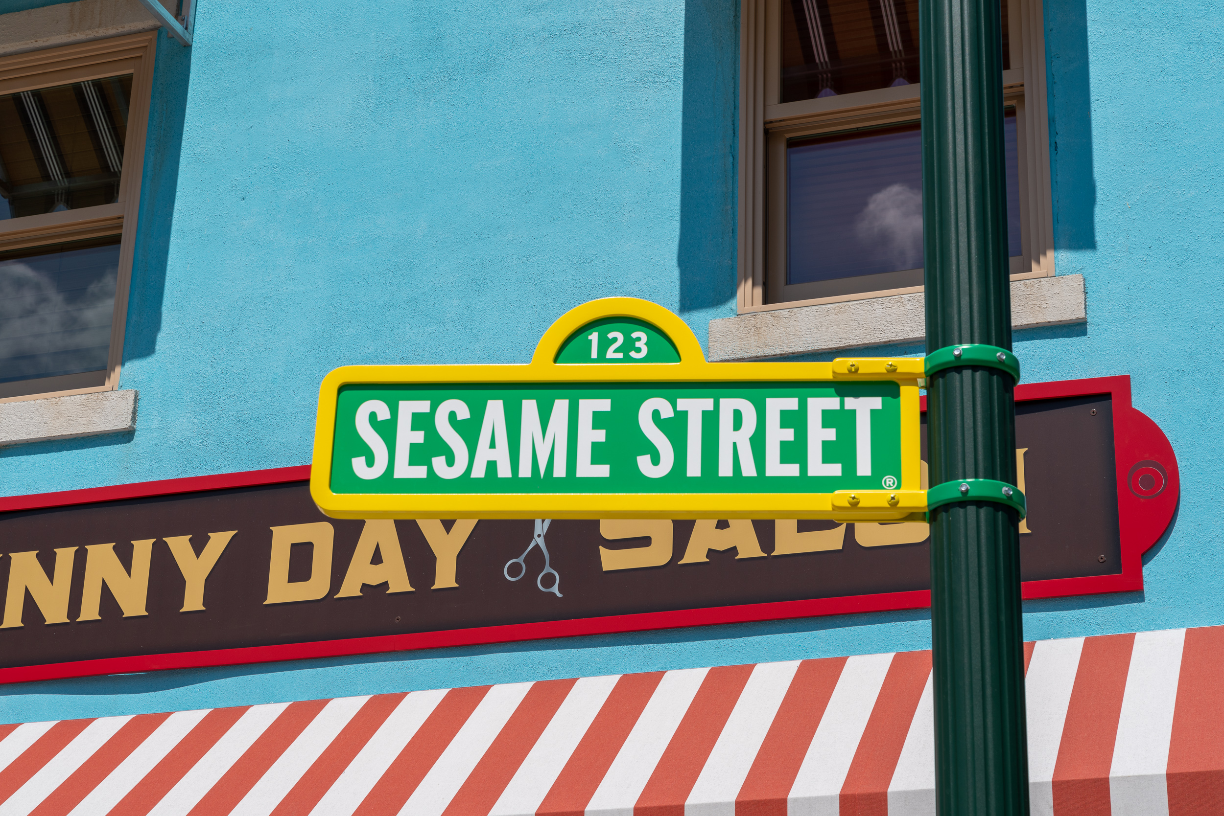 Sesame Street is the most detailed area of SeaWorld