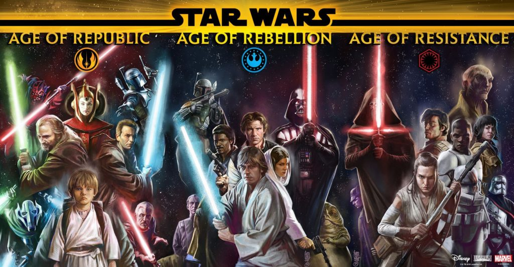 Star Wars: Age of Republic, Rebellion, and Resistance