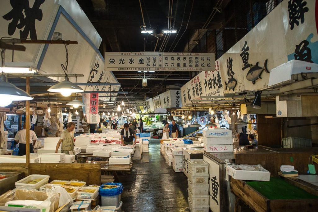 Toyko's Tsukiji Fish Market