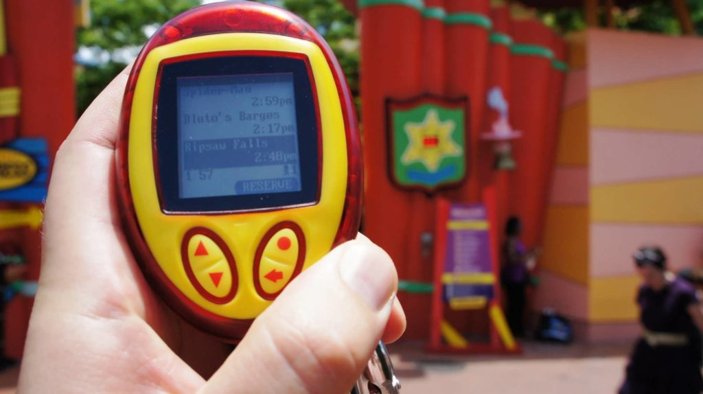 Q-Bot Ride Reservation System at Universal Orlando