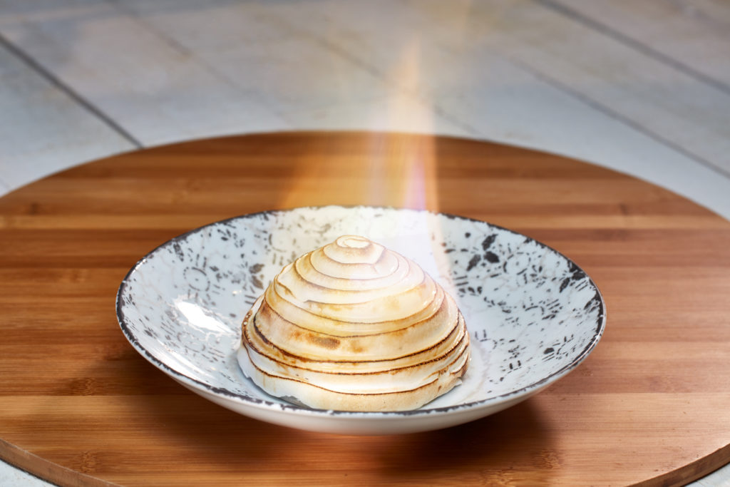 Bigfire Baked Alaska at Universal CityWalk