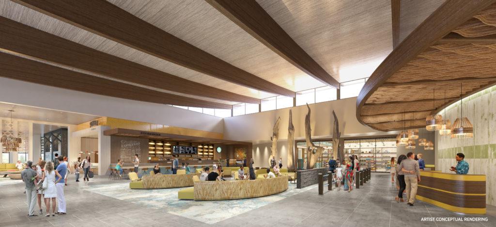 Dockside Inn and Suites's lobby