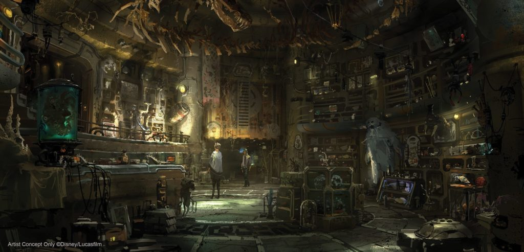 Dok-Ondar's Den of Antiquities concept art