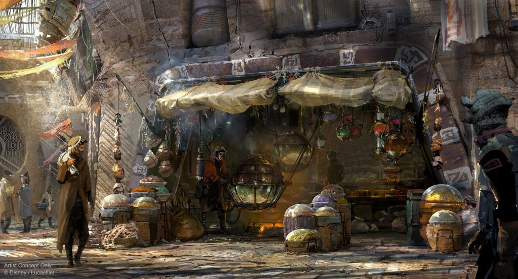 Kat Saka's Kettle in Star Wars: Galaxy's Edge