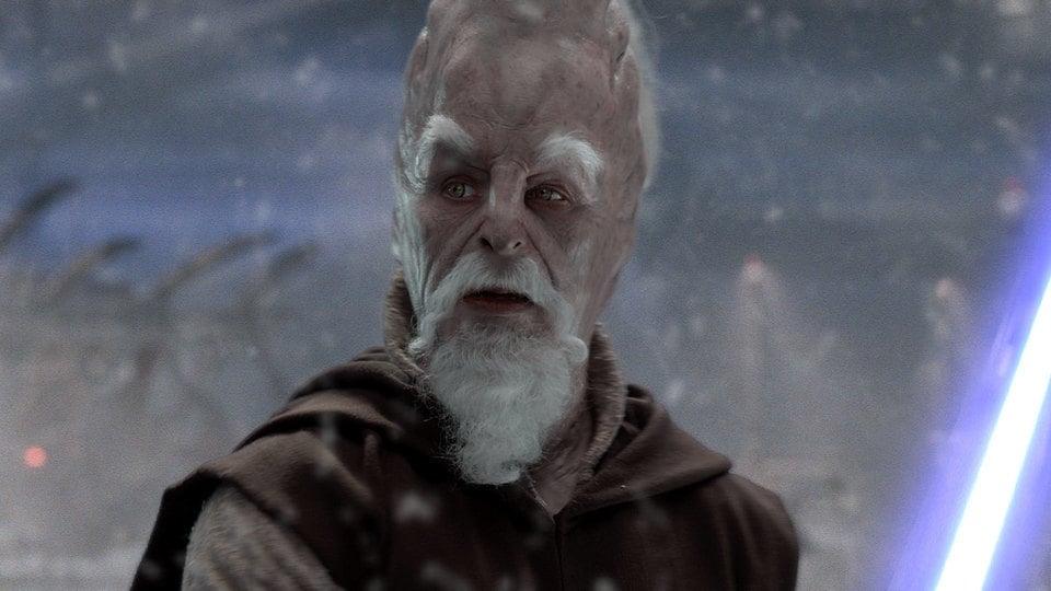 "Ki-Adi-Mundi on Mygeeto in ""Star Wars: Revenge of the Sith"""