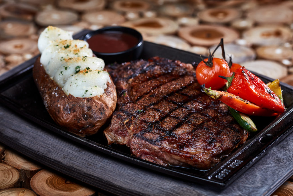Bigfire 16-oz Cowboy Ribeye Steak at Universal CityWalk