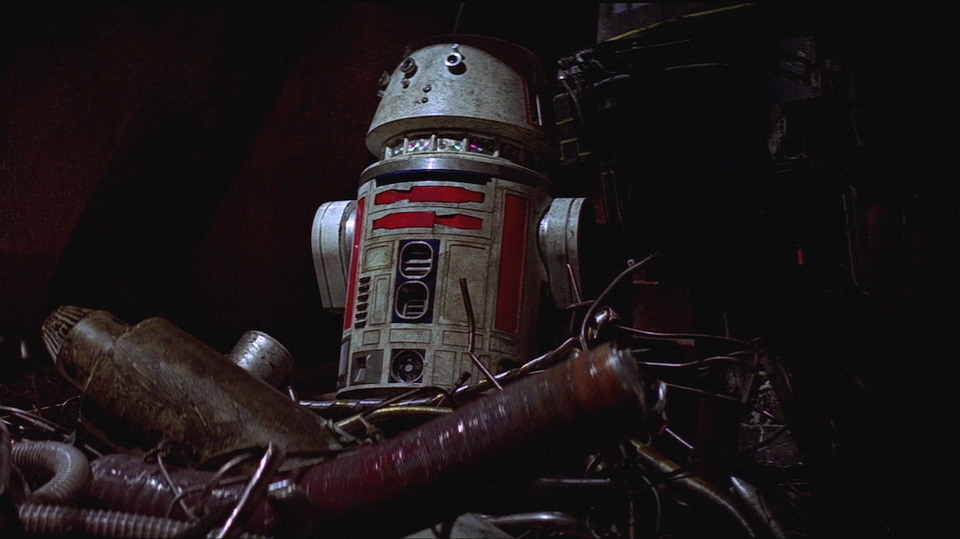 R5-D4 from Star Wars A New Hope