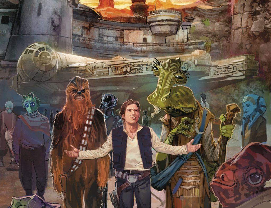 Star Wars: Galaxy's Edge #1 cover