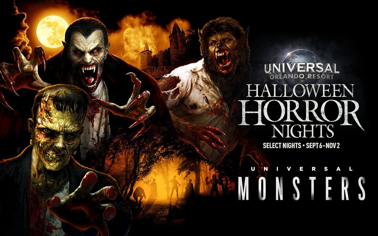 Universal Monsters announced for Halloween Horror Nights 2019