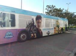 Universal Orlando partner hotel shuttle