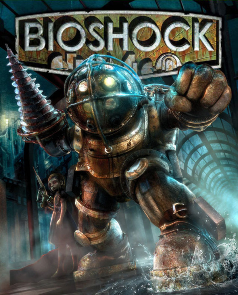 """BioShock"" game cover"