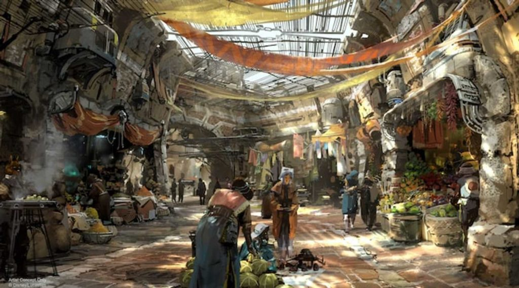 Black Spire Outfitters in Star Wars: Galaxy's Edge