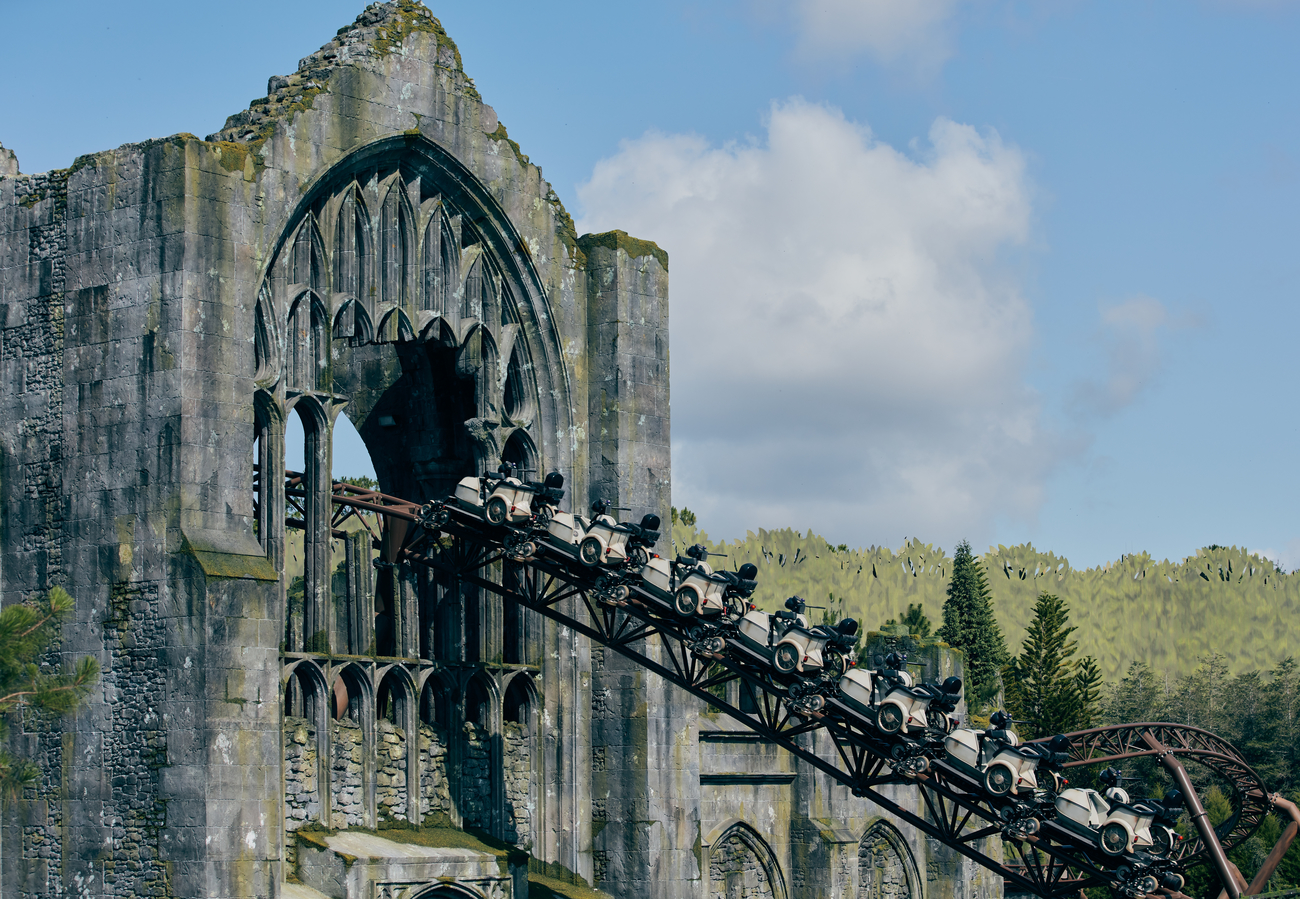 FIRST LOOK: our tour of Hagrid's Magical Creatures Motorbike Adventure