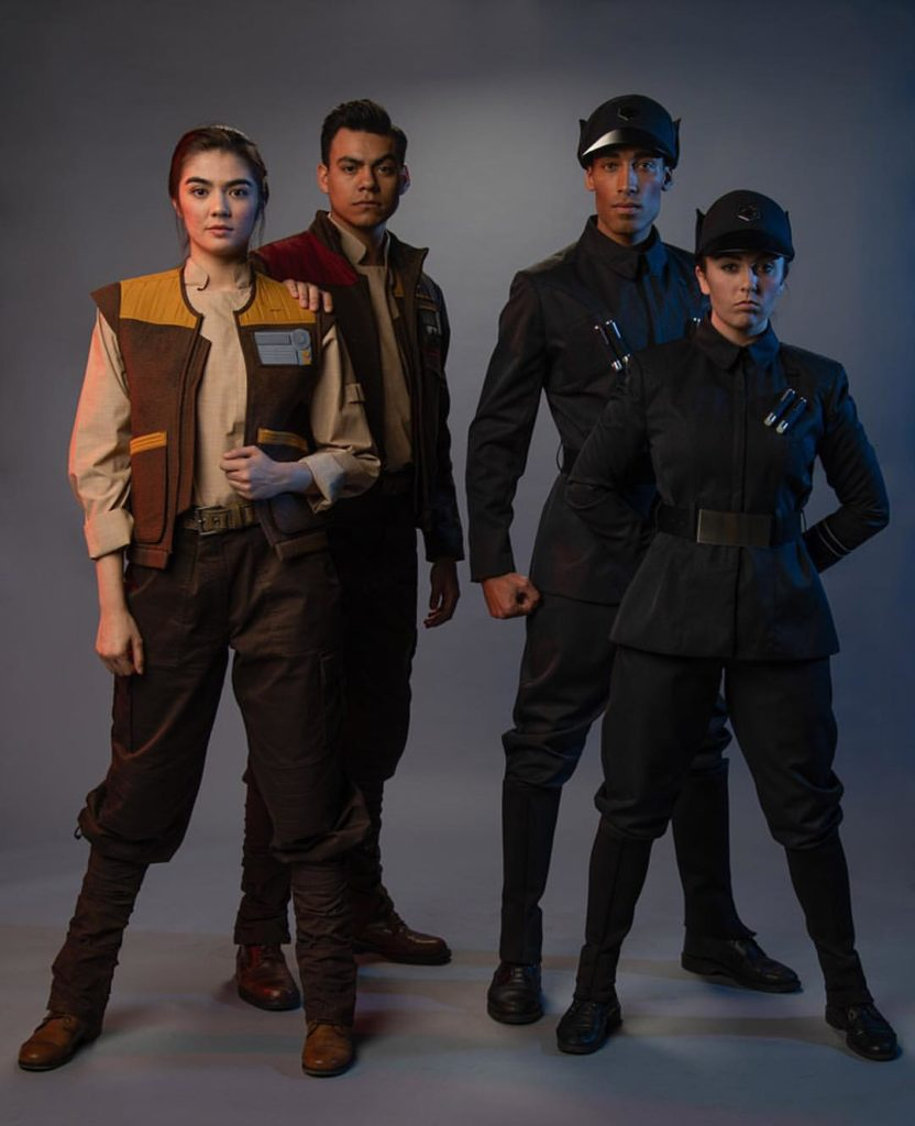 Star Wars: Galaxy's Edge cast member costumes