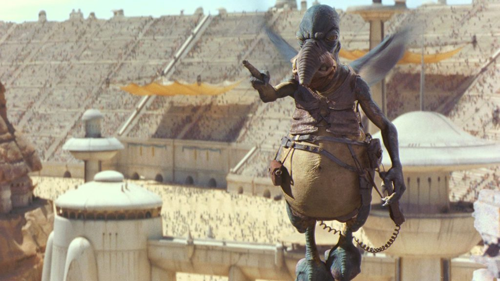 "Watto the Toydarian from ""Episode I: The Phantom Menace"""