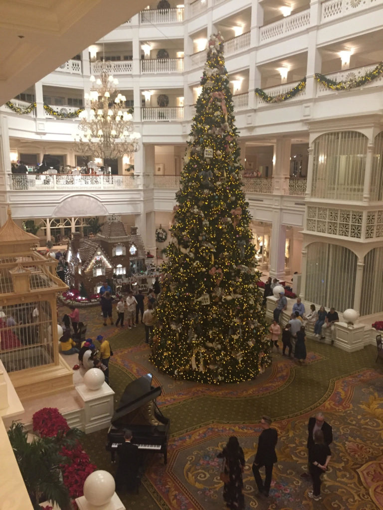 Christmas at the Grand Floridian Resort & Spa