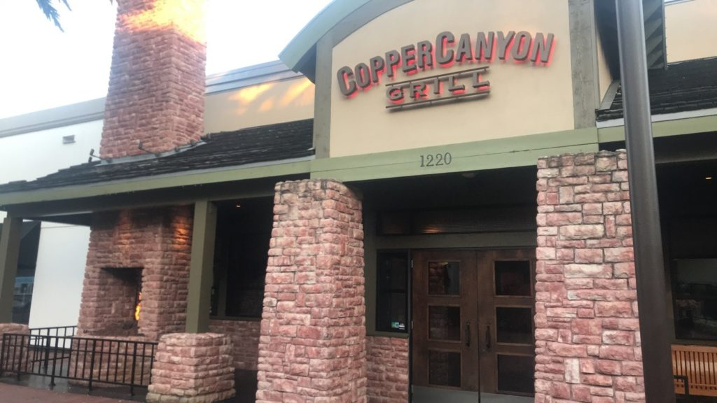 Copper Canyon Grill exterior