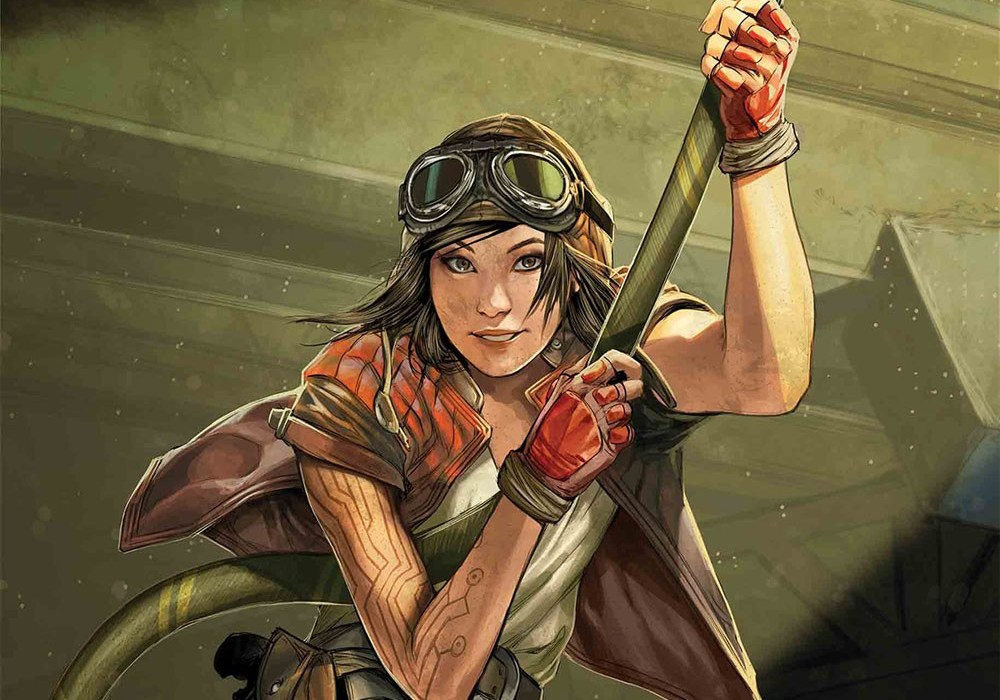 "Doctor Aphra from ""Star Wars"""