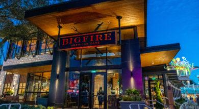 Exterior of Universal Orlando's Bigfire