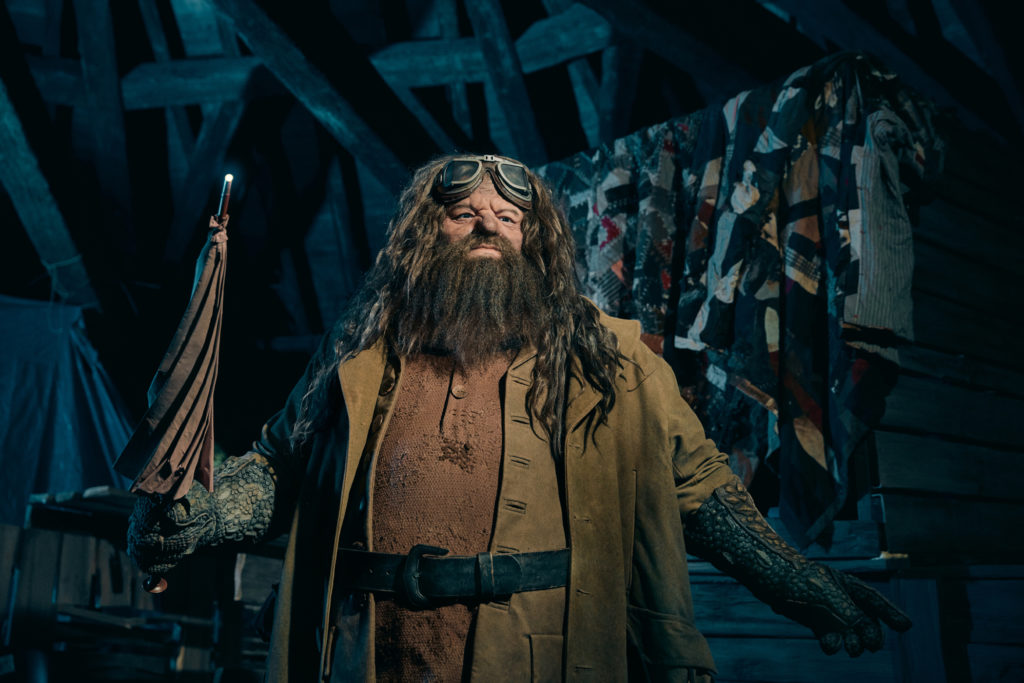 Hagrid animated figure at Hagrid's Magical Creatures Motorbike Adventure
