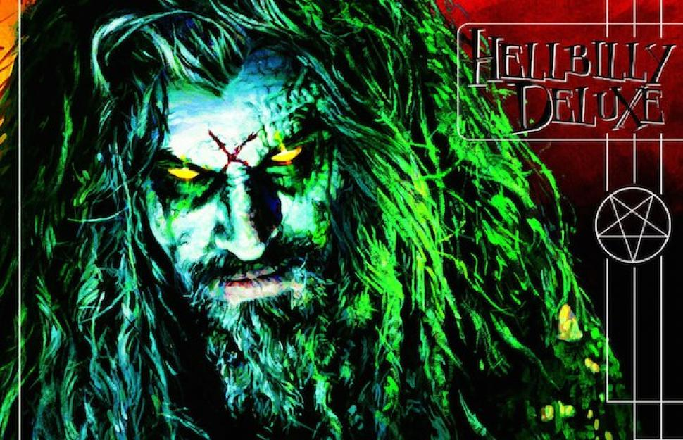 "Rob Zombie's ""Hellbilly Deluxe"" album cover"