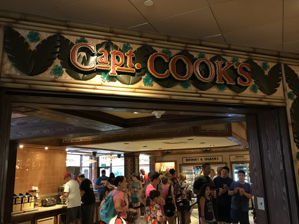 Capt. Cook's at the Polynesian Village Resort