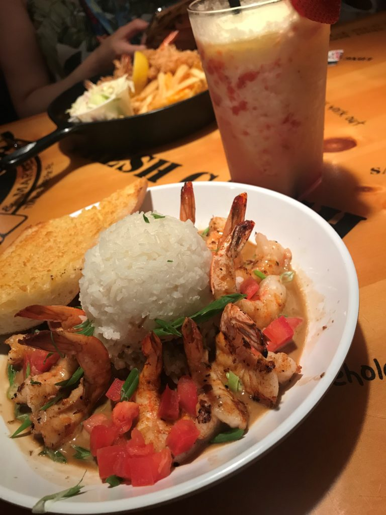 New Orleans Shrimp from Bubba Gump at CityWalk