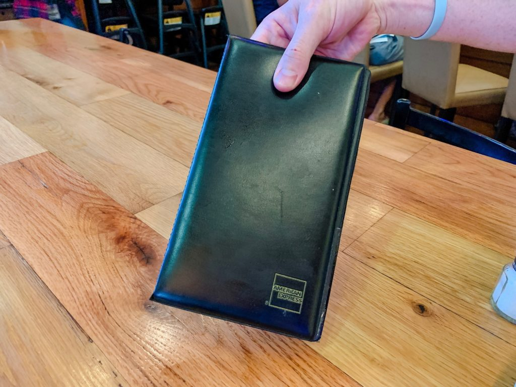 Tipping at restaurants