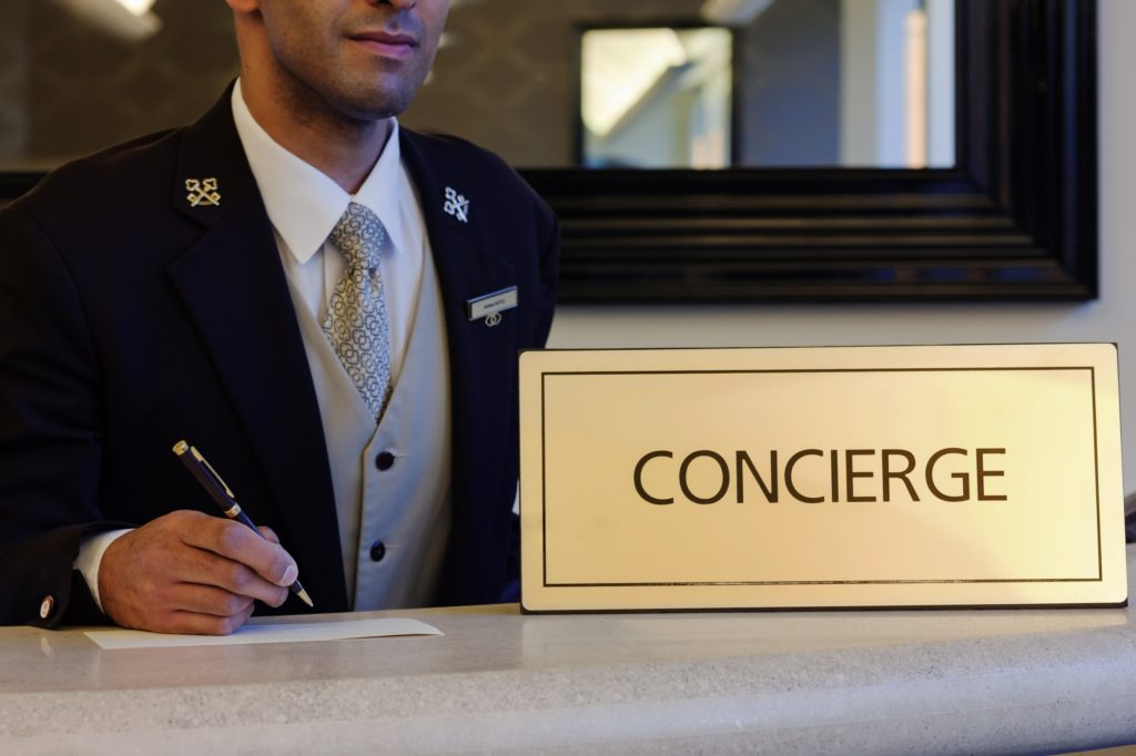 Tipping your concierge