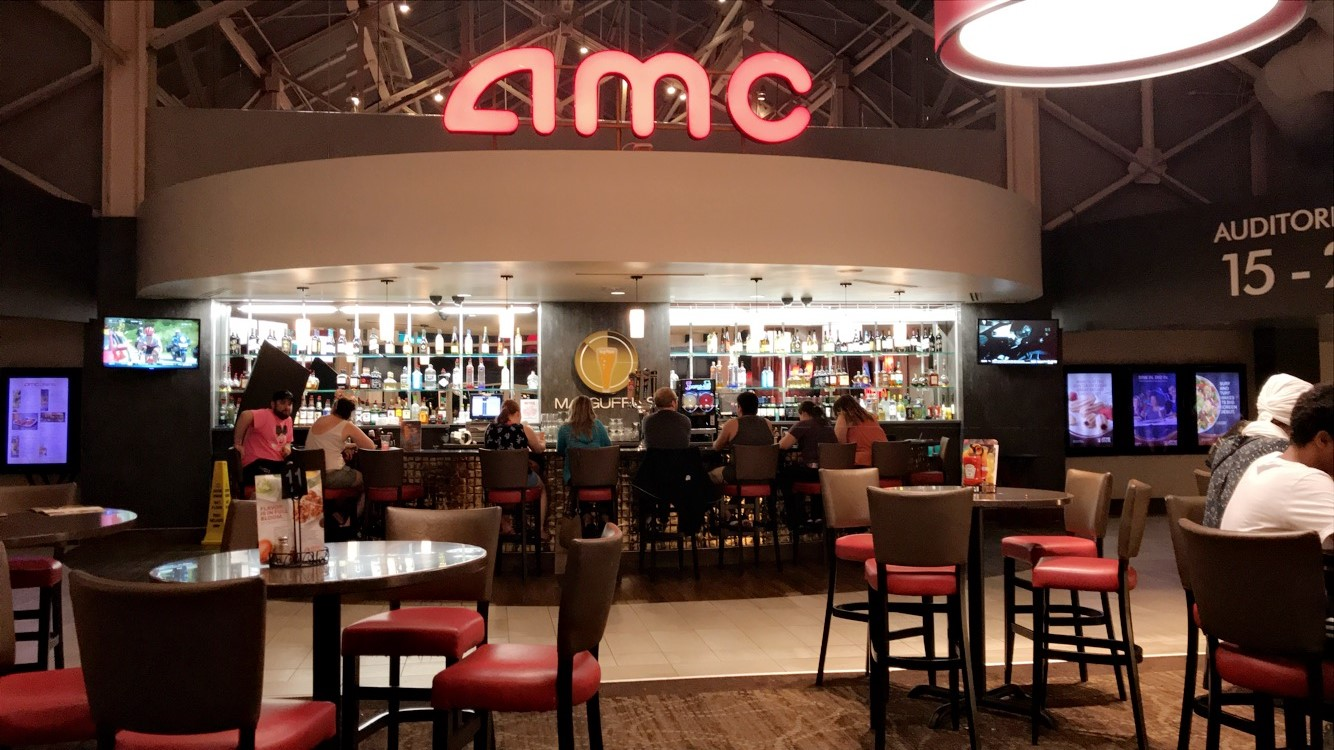 Dinner and a movie at AMC Dine-In Theaters