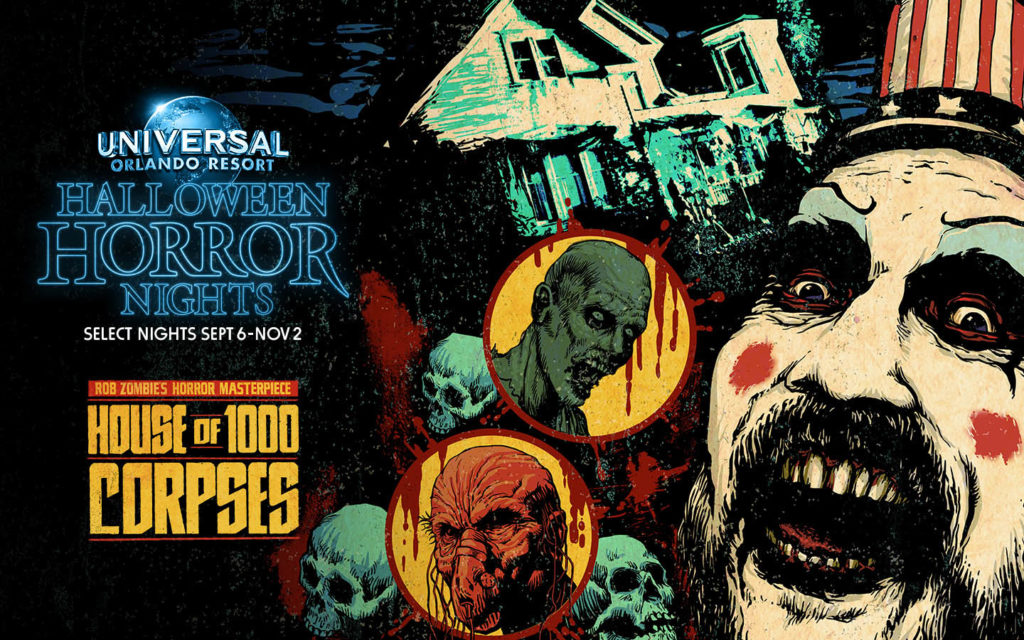 House of 1,000 Corpses at Halloween Horror Nights 2019