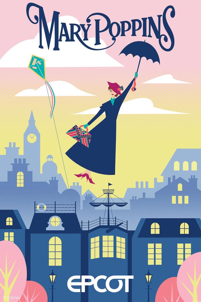 Mary Poppins at Epcot's World Showcase