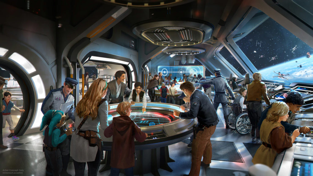 Star Wars: Galaxy's Edge at Disney World's Hollywood Studios