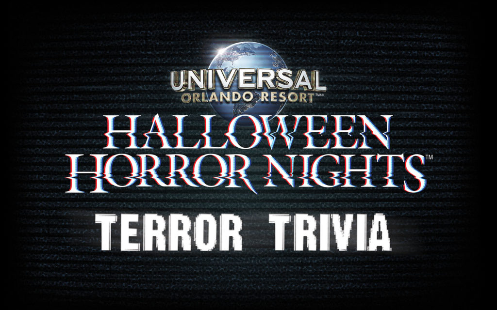 Terror Trivia at Halloween Horror Nights