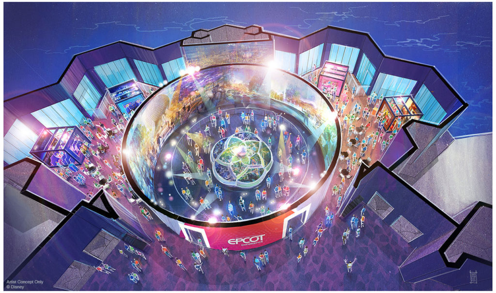 Walt Disney Imagineering presents the Epcot Experience at the Odyssey Pavilion