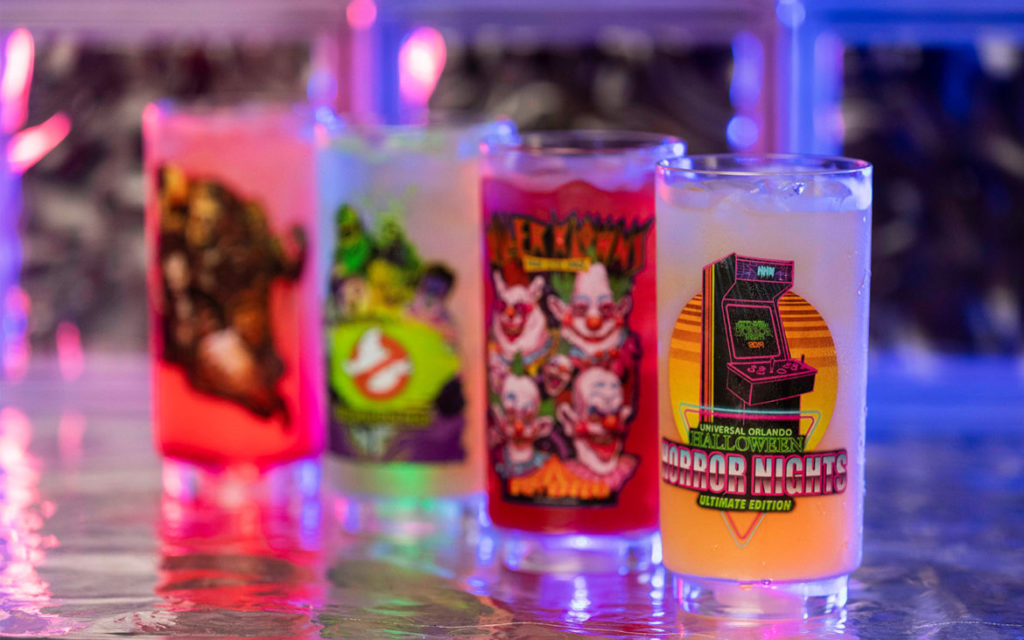The four event drinks at Halloween Horror Nights 2019