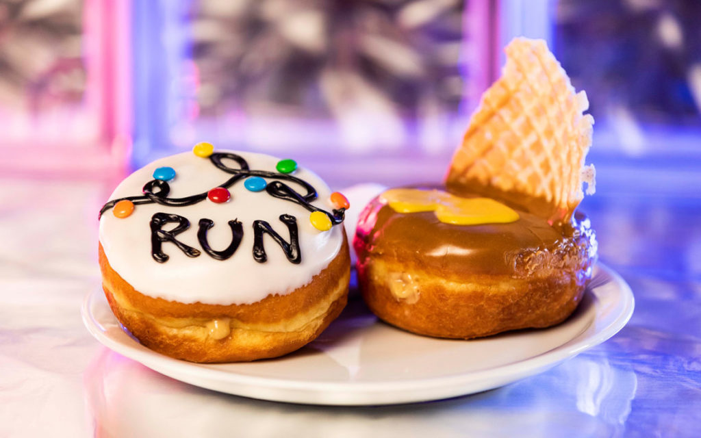 The Stranger Things Run and Waffle Doughnuts