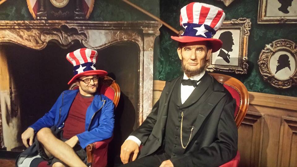 Great moments with Mr. Lincoln at Madame Tussauds