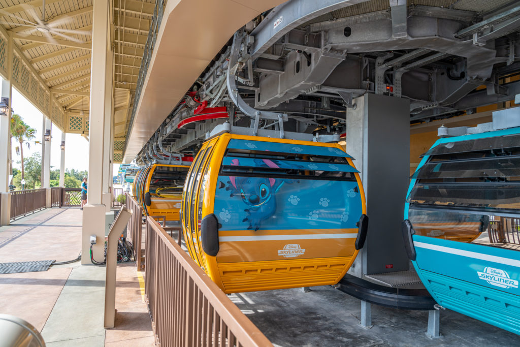 Disney Skyliner cabins