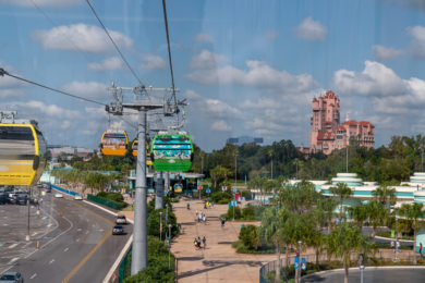 Disney Skyliner by Hollywood Studios